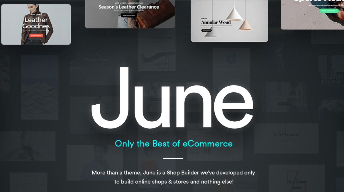 June best premium theme