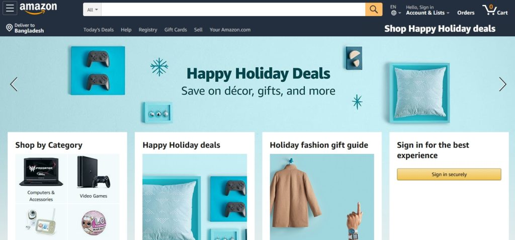 Best digital product marketplace Amazon