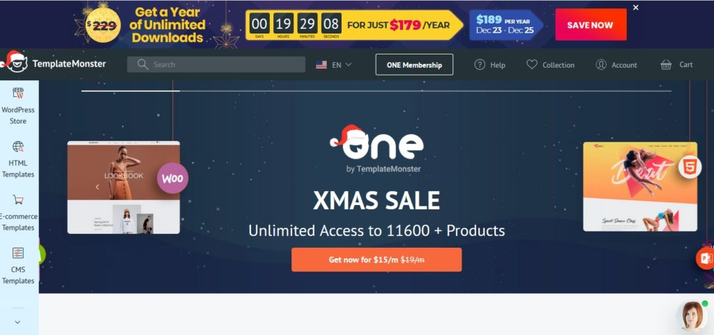 Best digital product marketplace Template Monstar