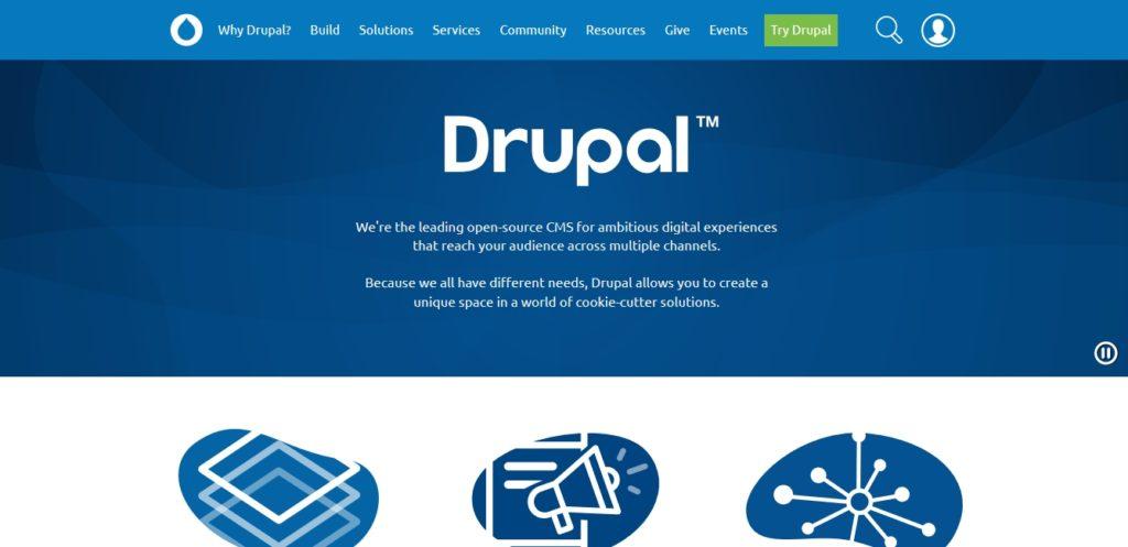 content management system drupal