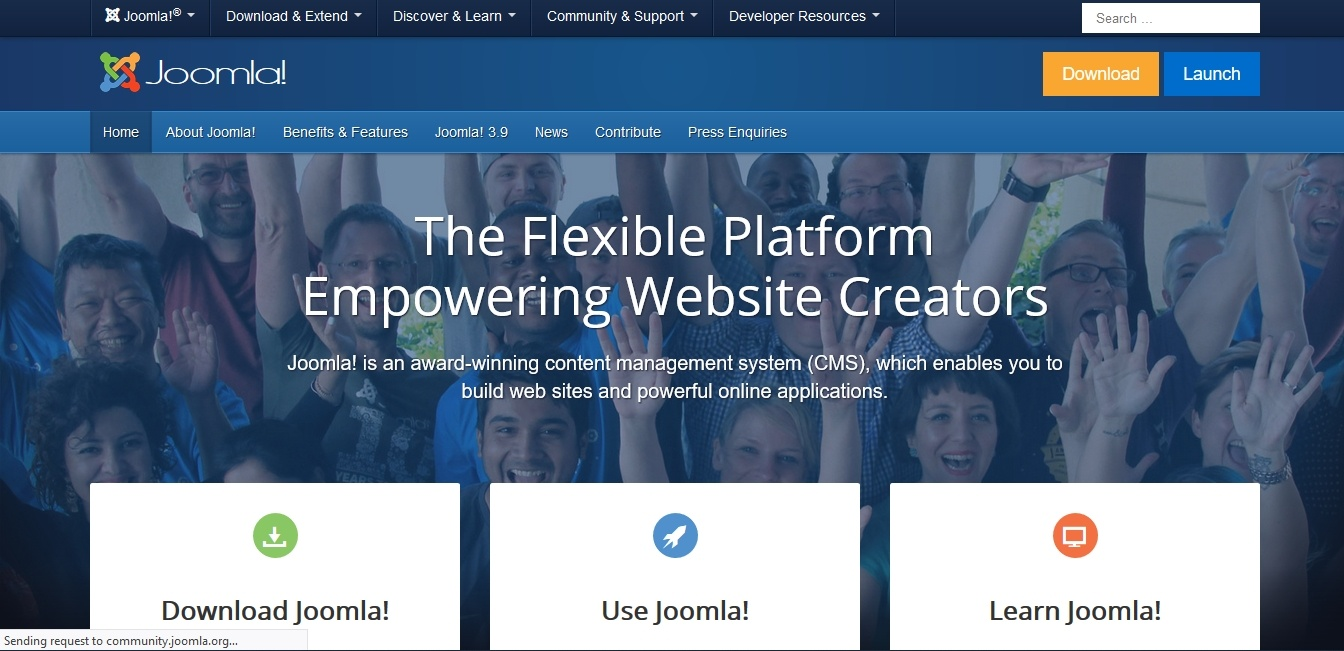 best content management system joomla