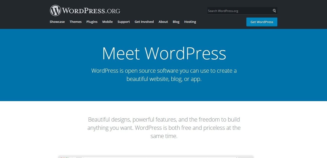 best content management system wordpress