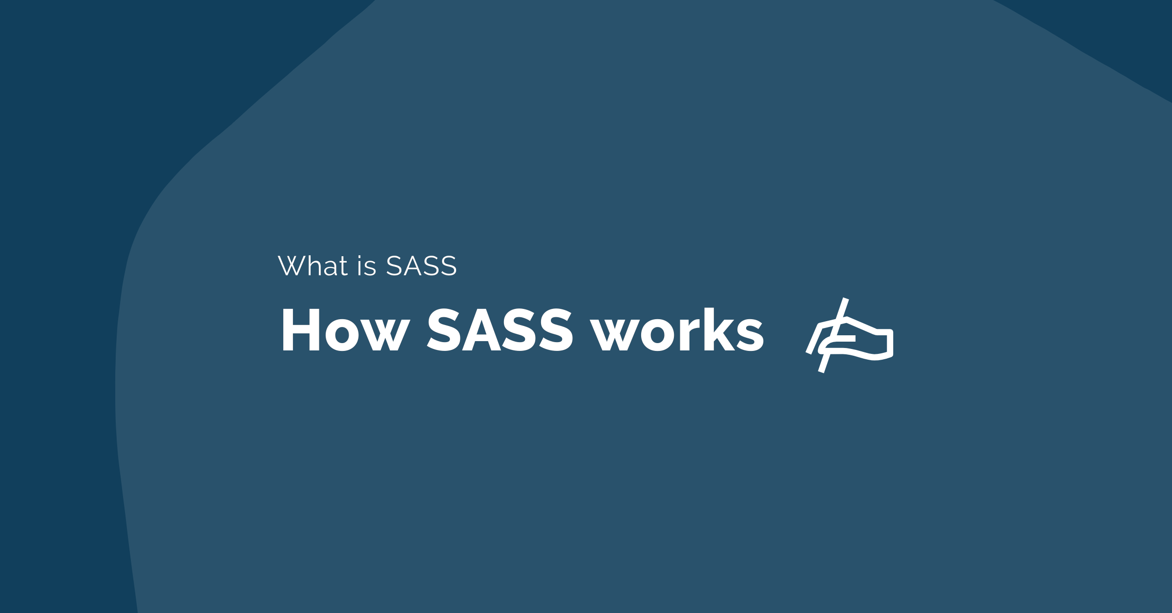 What is SASS and how SASS works