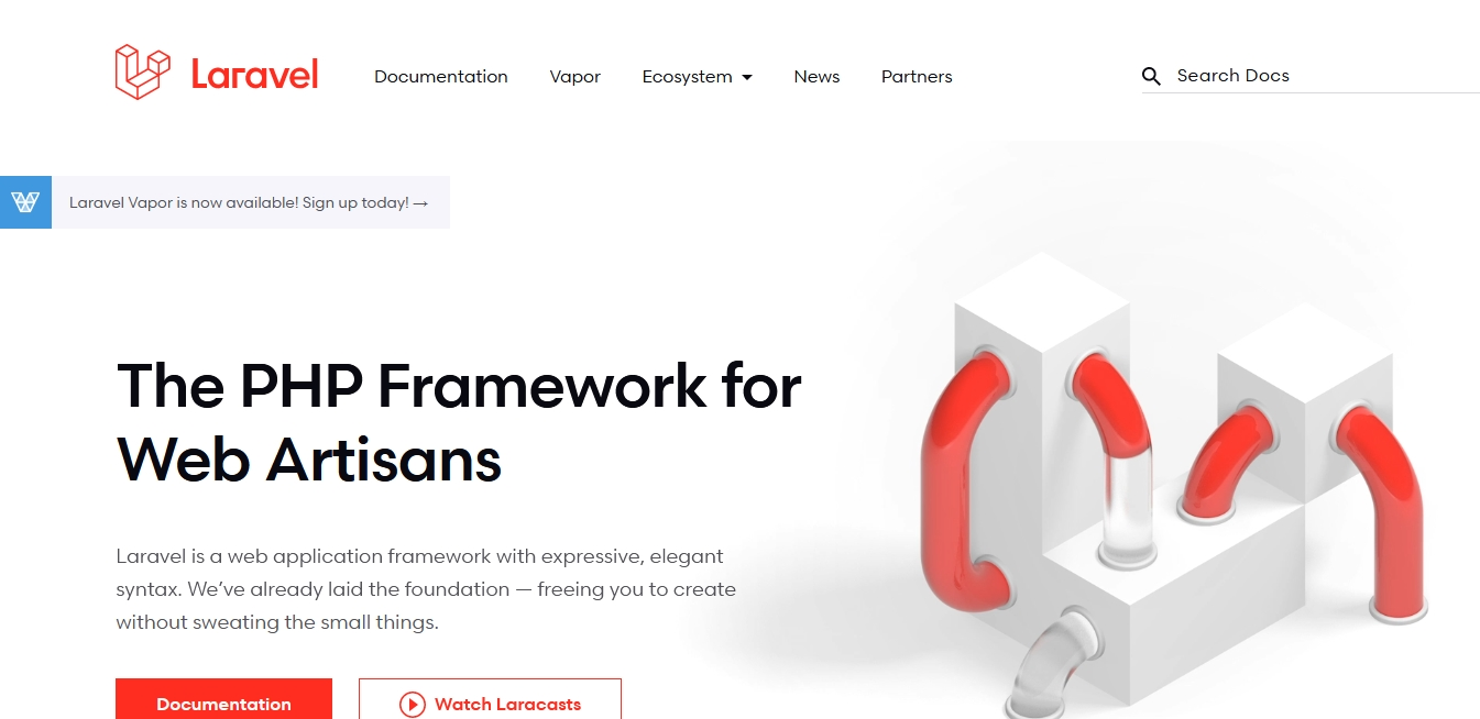 Popular framework laravel